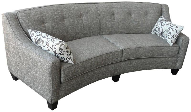 CURVE SOFA - CUSTOM CANADA MADE - BY ELITE Sofas Elite