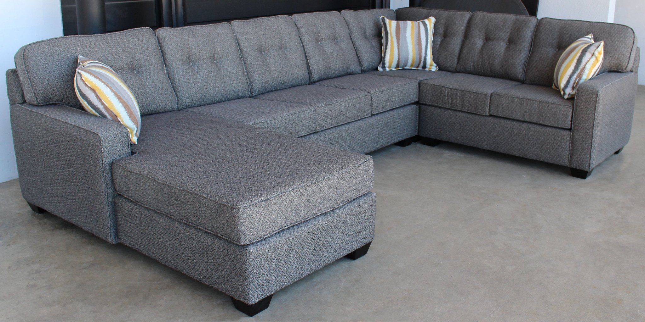 Dallas 4 Piece Sectional - Calgary Furniture Stores