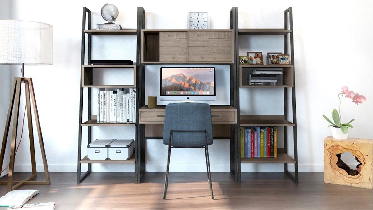 Irondale Modular Desk | Calgary's Furniture Store