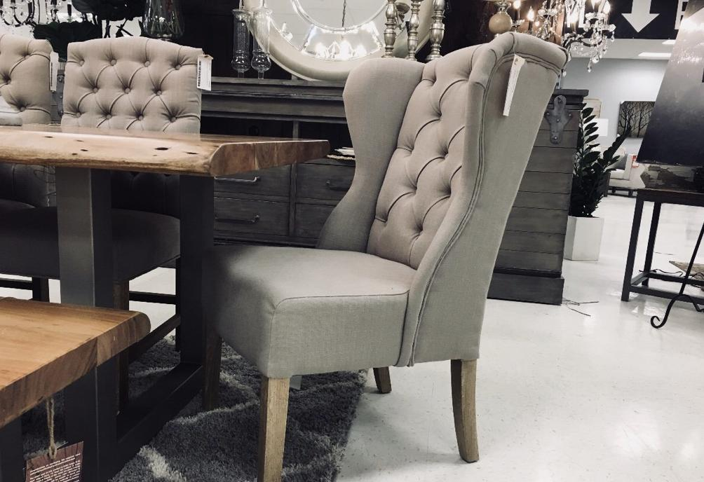 YORK TUFTED CHAIR Dining Chairs LH