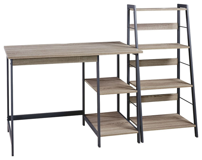 Soho Home Office Desk and Shelf | Calgary's Furniture Store