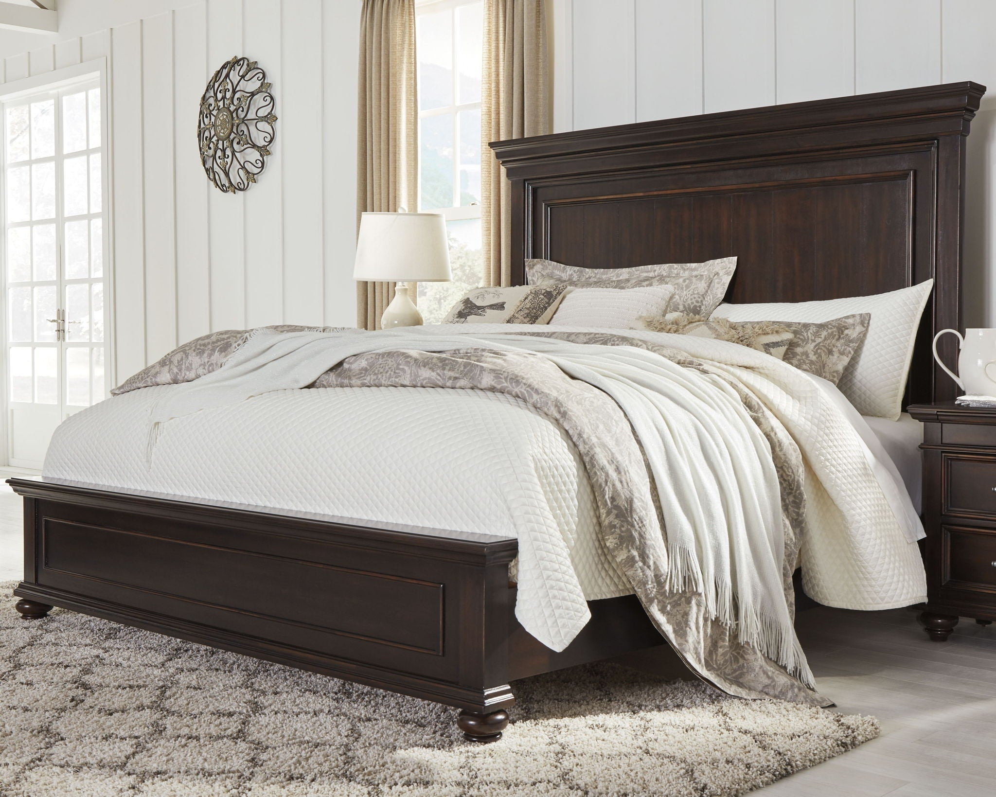 Brynhurst Panel Bed | Calgary's Furniture Store