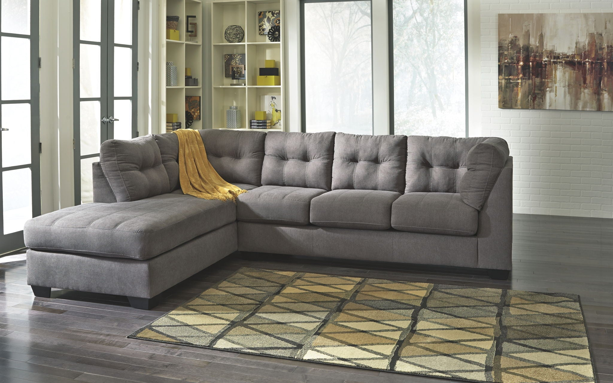 Maier Sectional with Chaise | Calgary's Furniture Store
