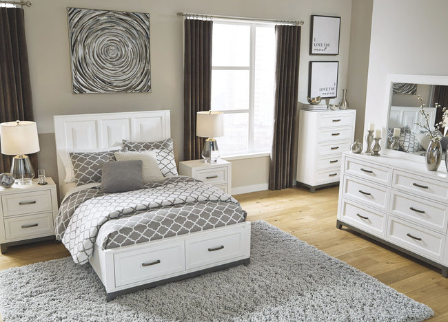 Brynburg Panel Bed | Calgary's Furniture Store