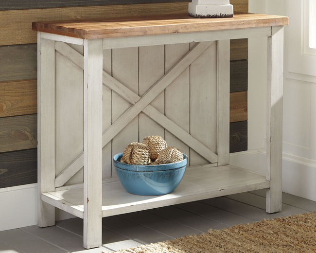 Abramsland Sofa/Console Table | Calgary's Furniture Store