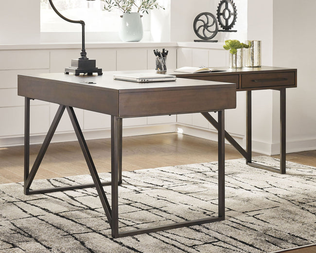 Starmore 2-Piece Home Office Desk | Calgary's Furniture Store