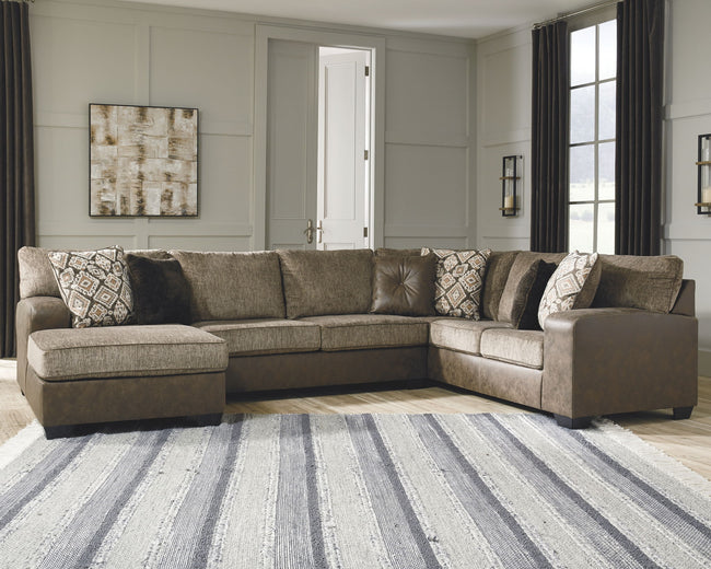 Abalone Sectional with Chaise | Calgary's Furniture Store