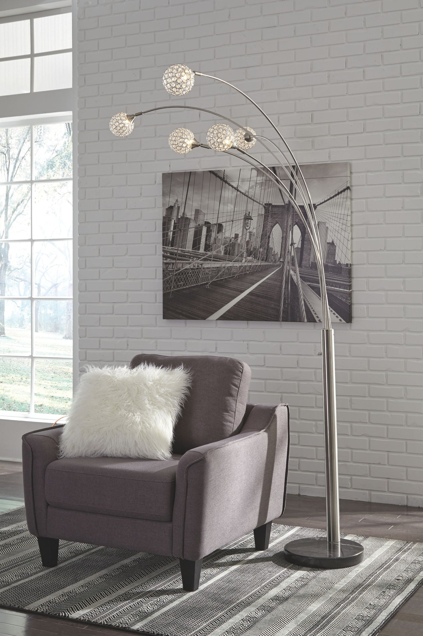 Winter Arc Lamp | Calgary's Furniture Store