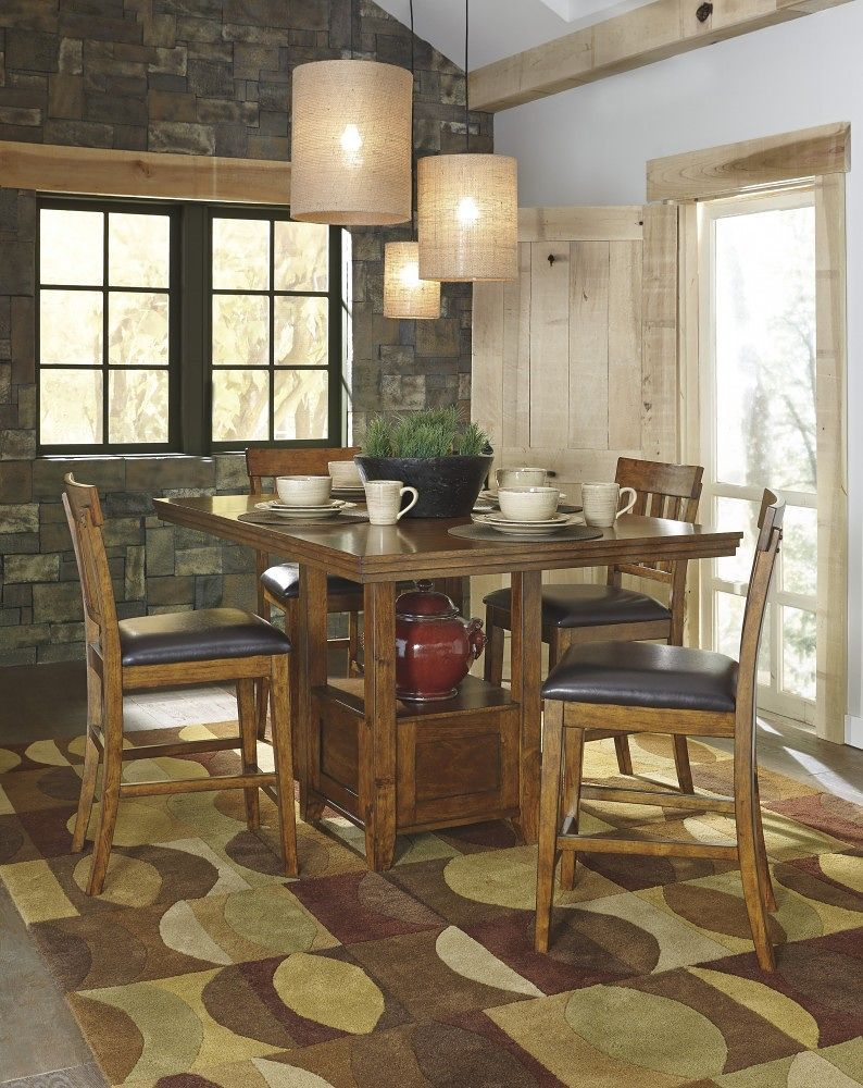 Ralene Counter Height Dining Room Extension Table | Calgary's Furniture Store