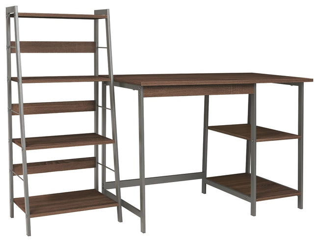 Soho Home Office Desk with Shelf | Calgary's Furniture Store