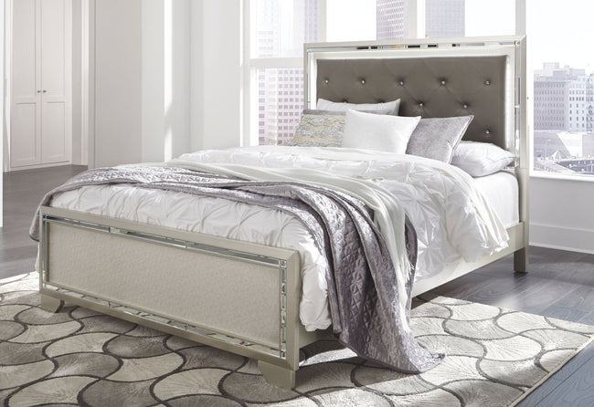 Lonnix Panel Bed | Calgary's Furniture Store