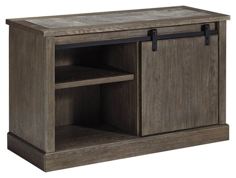 Jonileene 2-Piece Home Office Credenza with Hutch