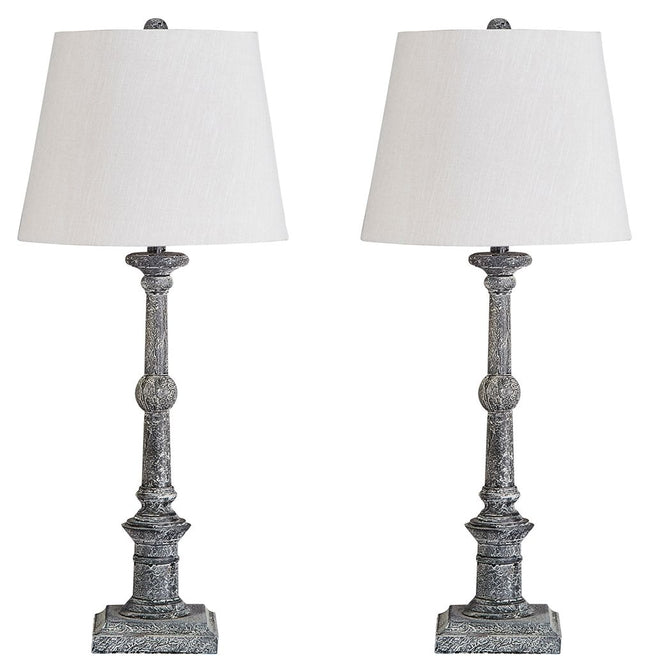 Zimba Table Lamp (Set of 2) | Calgary's Furniture Store