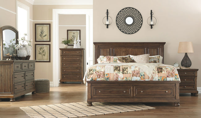 Flynnter Storage Panel Bed | Calgary's Furniture Store