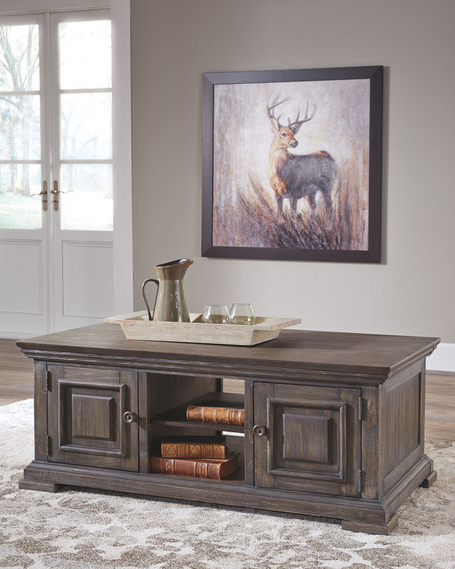 Wyndahl Coffee Table With Storage | Calgary's Furniture Store