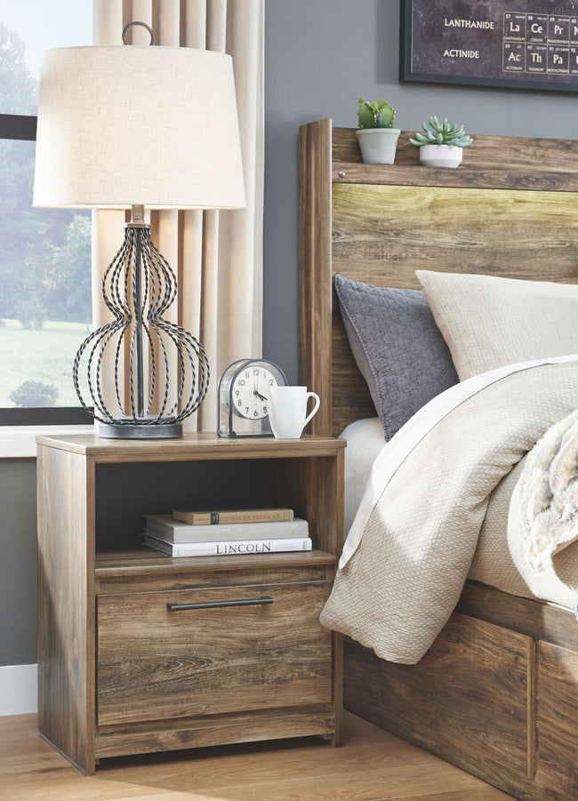 Rusthaven Night Stand | Calgary's Furniture Store