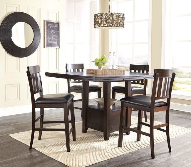 Haddigan Counter Height Dining Room Extension Table | Calgary's Furniture Store
