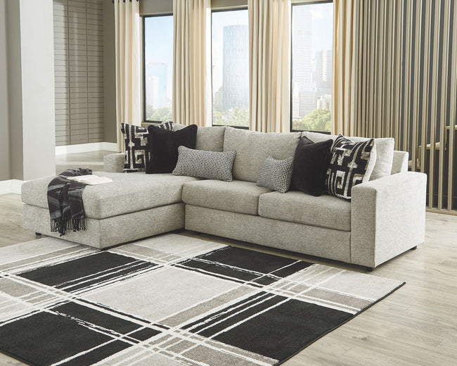 Ravenstone Sleeper Sectional with Chaise