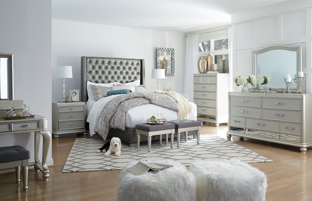 Coralayne Upholstered Bed | Calgary's Furniture Store