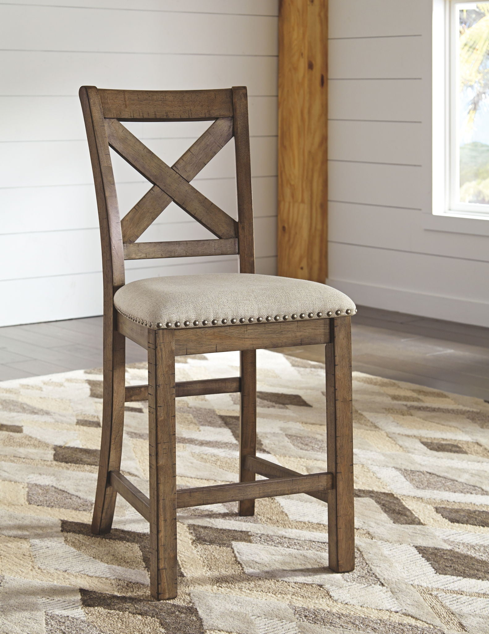 Moriville Counter Height Bar Stool | Calgary's Furniture Store
