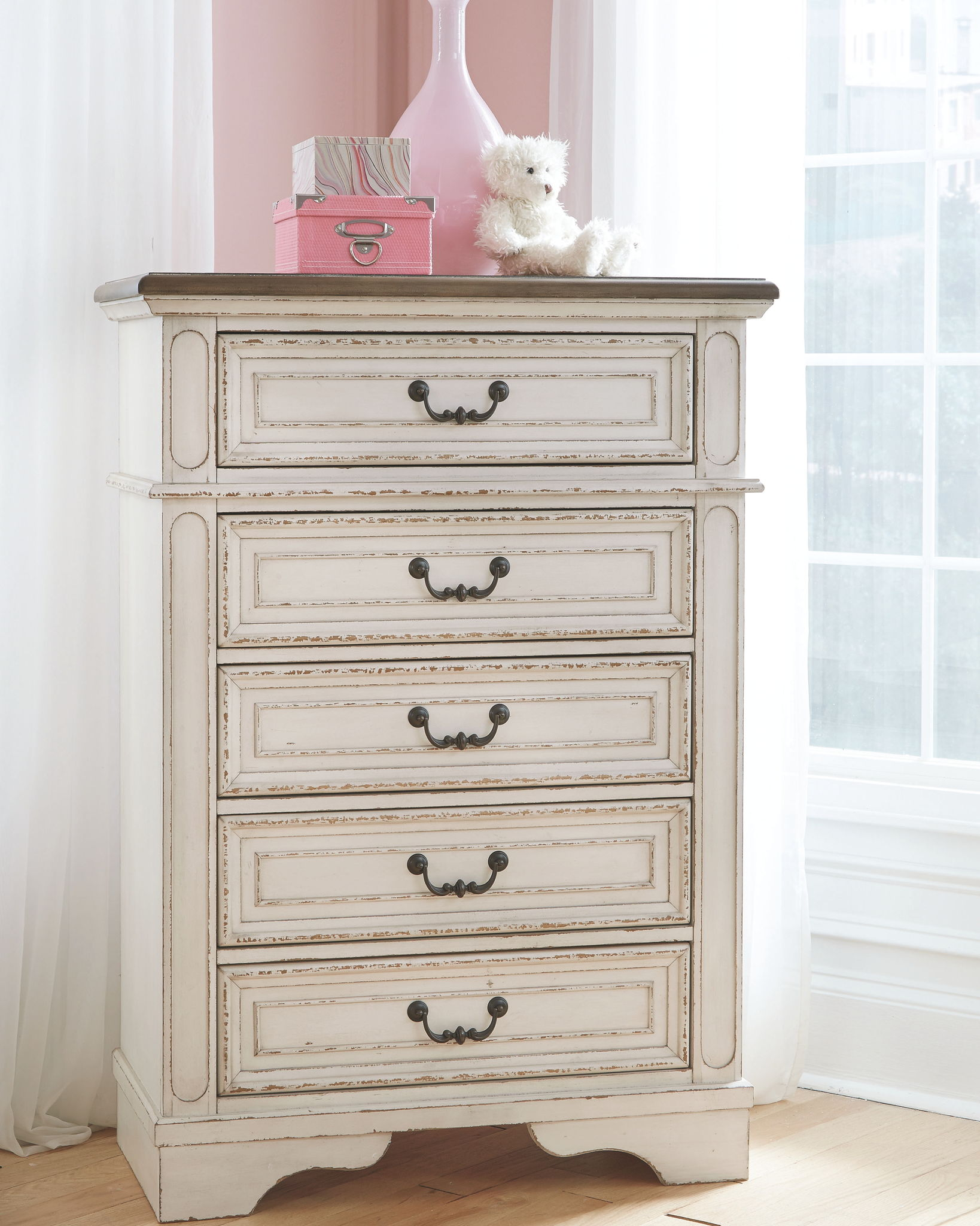 Realyn Chest of Drawers | Calgary's Furniture Store
