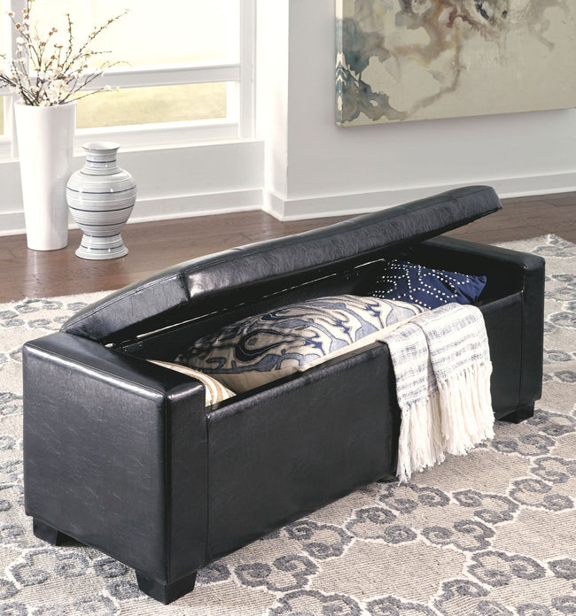 Benches Upholstered Storage Bench | Calgary's Furniture Store