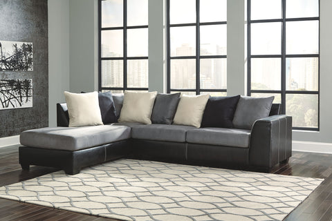 Eltmann Sectional with Cuddler