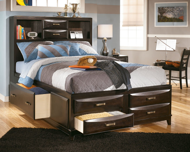 Kira Storage Bed with 7 Drawers
