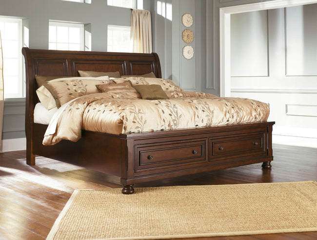 Porter Sleigh Bed | Calgary's Furniture Store