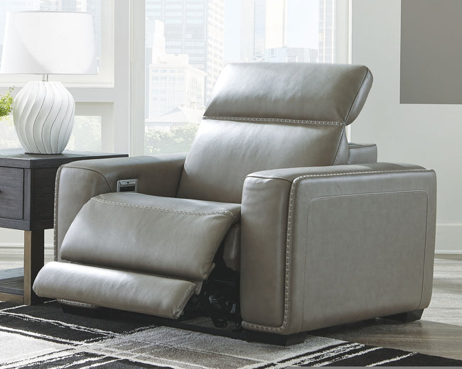 Correze Recliner with Power | Calgary's Furniture Store