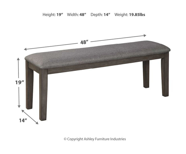 Luvoni Dining Room Bench
