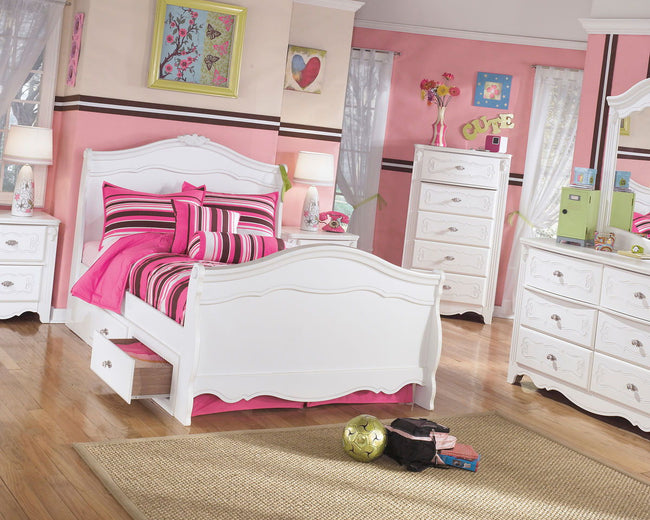 Exquisite Storage Sleigh Bed | Calgary's Furniture Store