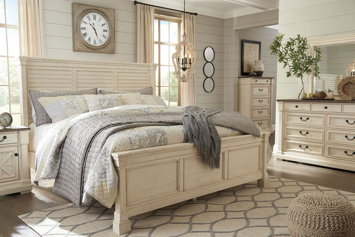 Bolanburg Panel Bed | Calgary's Furniture Store