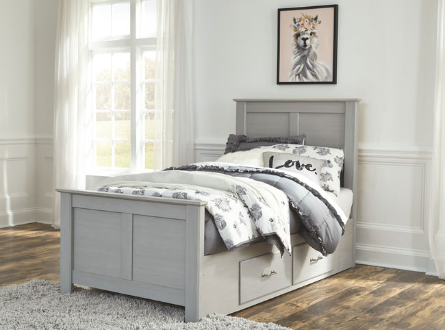 Arcella Panel Bed with Storage