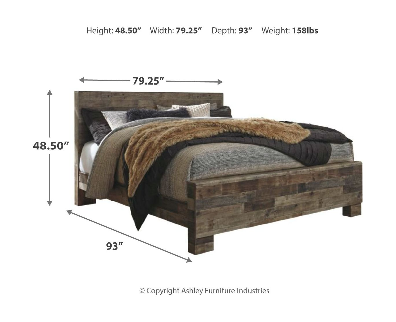 Derekson Panel Bed | Calgary's Furniture Store