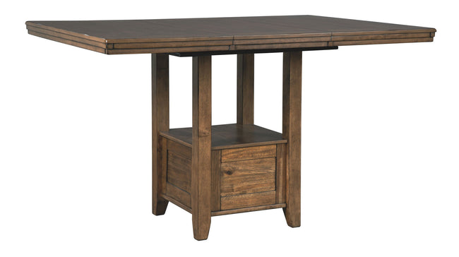 Flaybern Counter Height Dining Room Table | Calgary's Furniture Store