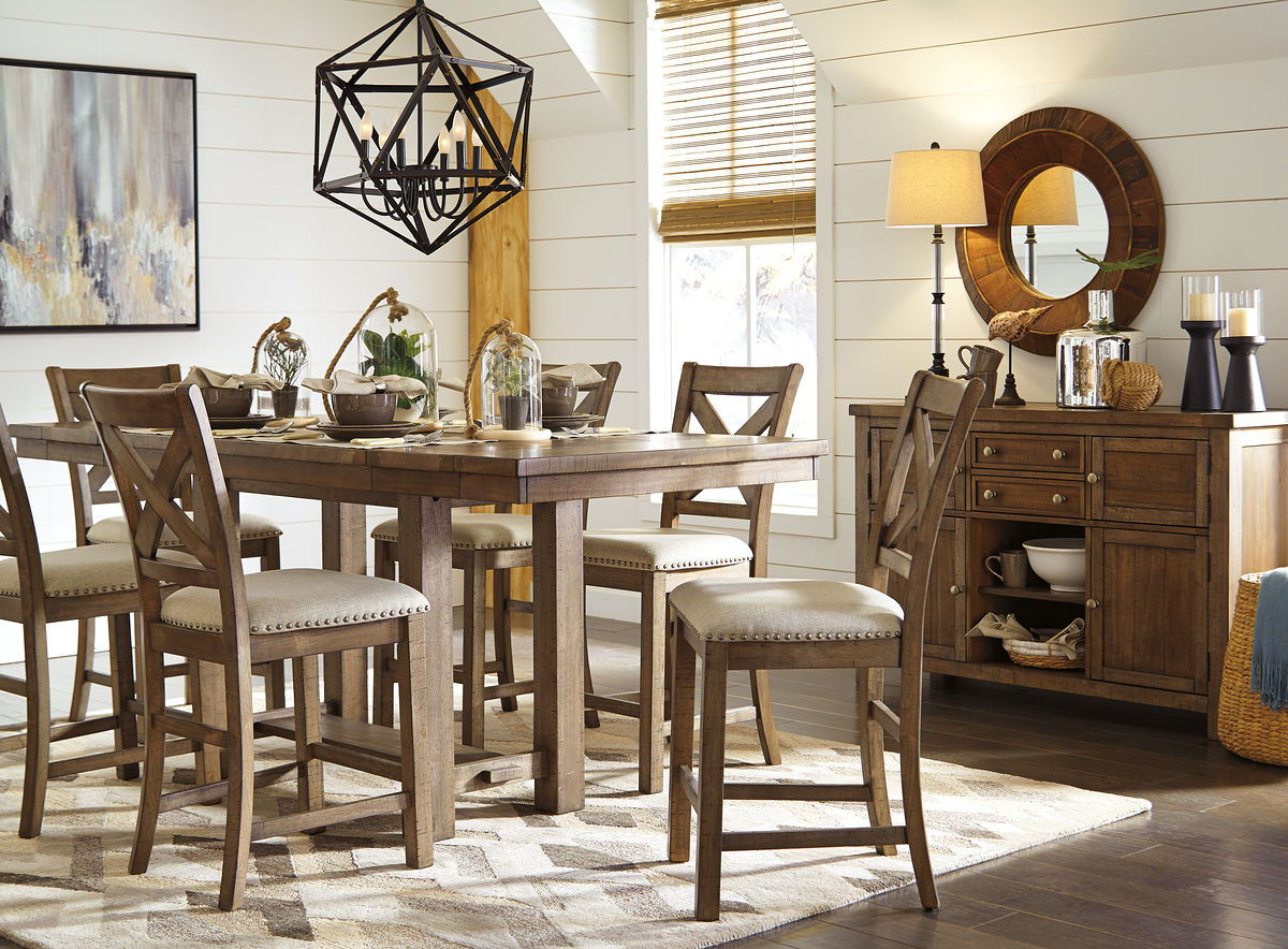 Moriville Dining Room Server | Calgary's Furniture Store