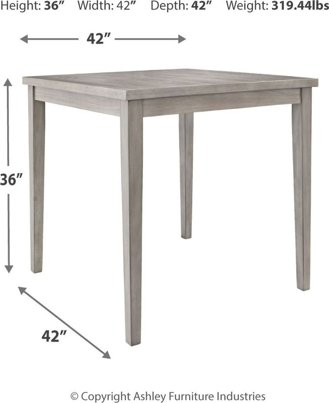 Parellen Counter Height Dining Room Table | Calgary's Furniture Store