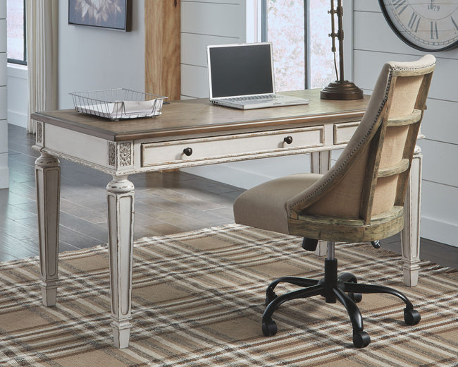 Realyn Home Office Set | Calgary's Furniture Store
