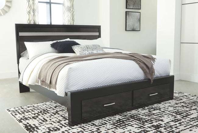 Starberry Storage Panel Bed