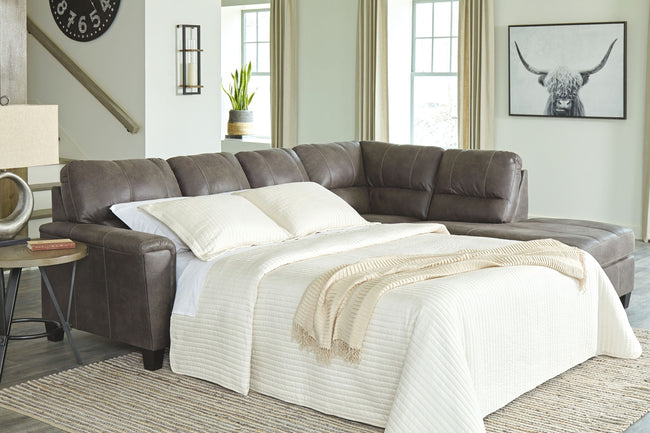 Navi Sleeper Sectional with Chaise