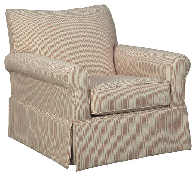 Almanza Swivel Glider Accent Chair | Calgary's Furniture Store