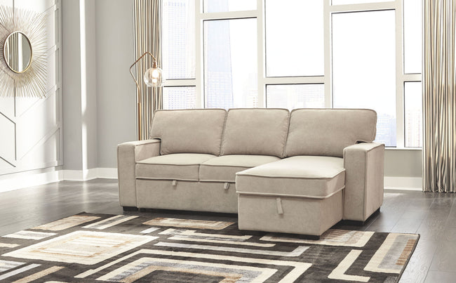 Darton Sleeper Sectional with Storage
