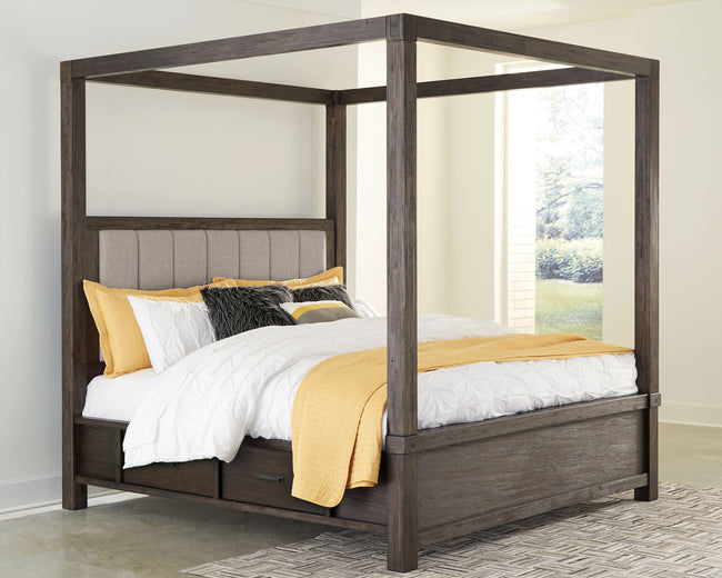 Dellbeck Storage Canopy Bed
