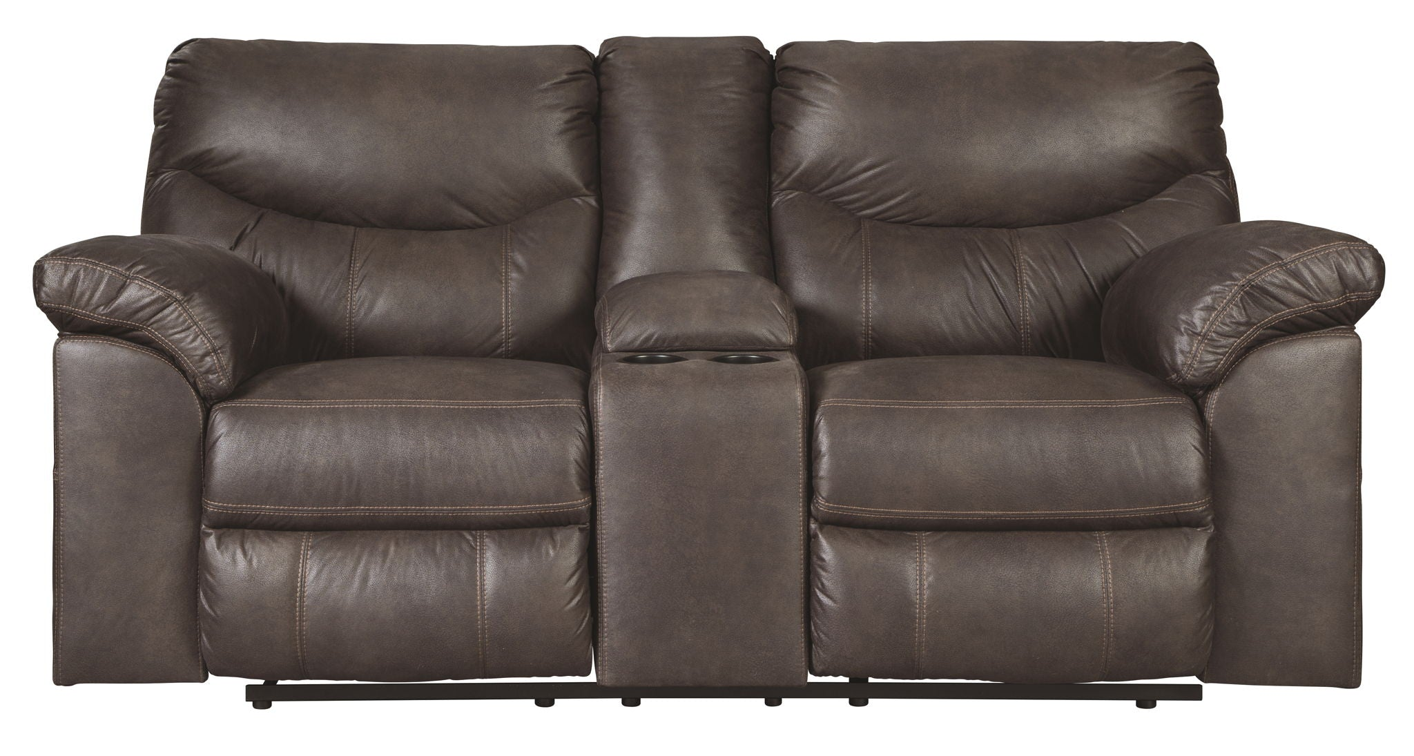 Boxberg Reclining Loveseat with Console | Calgary's Furniture Store