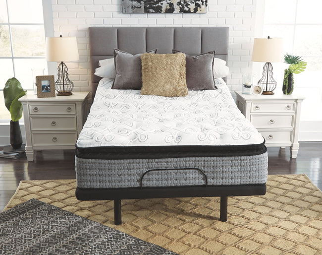 Mt Rogers Ltd Pillowtop Adjustable Base with Mattress | Calgary's Furniture Store