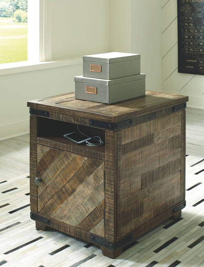 Cordayne Chairside End Table | Calgary's Furniture Store