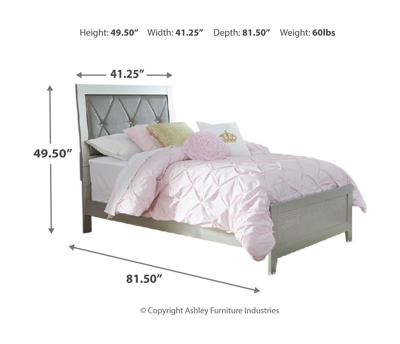 Olivet Panel Bed | Calgary's Furniture Store