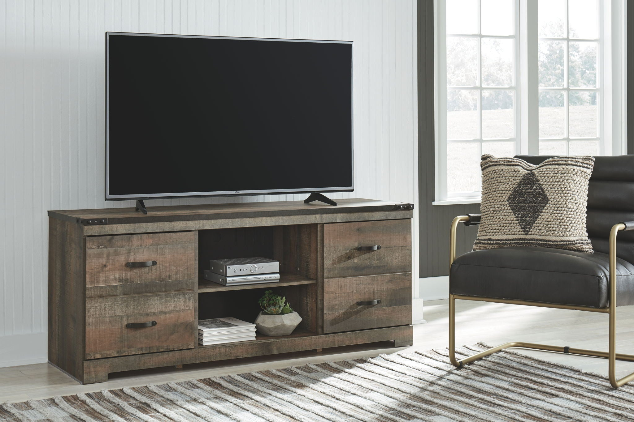 "Trinell 63"" TV Stand 