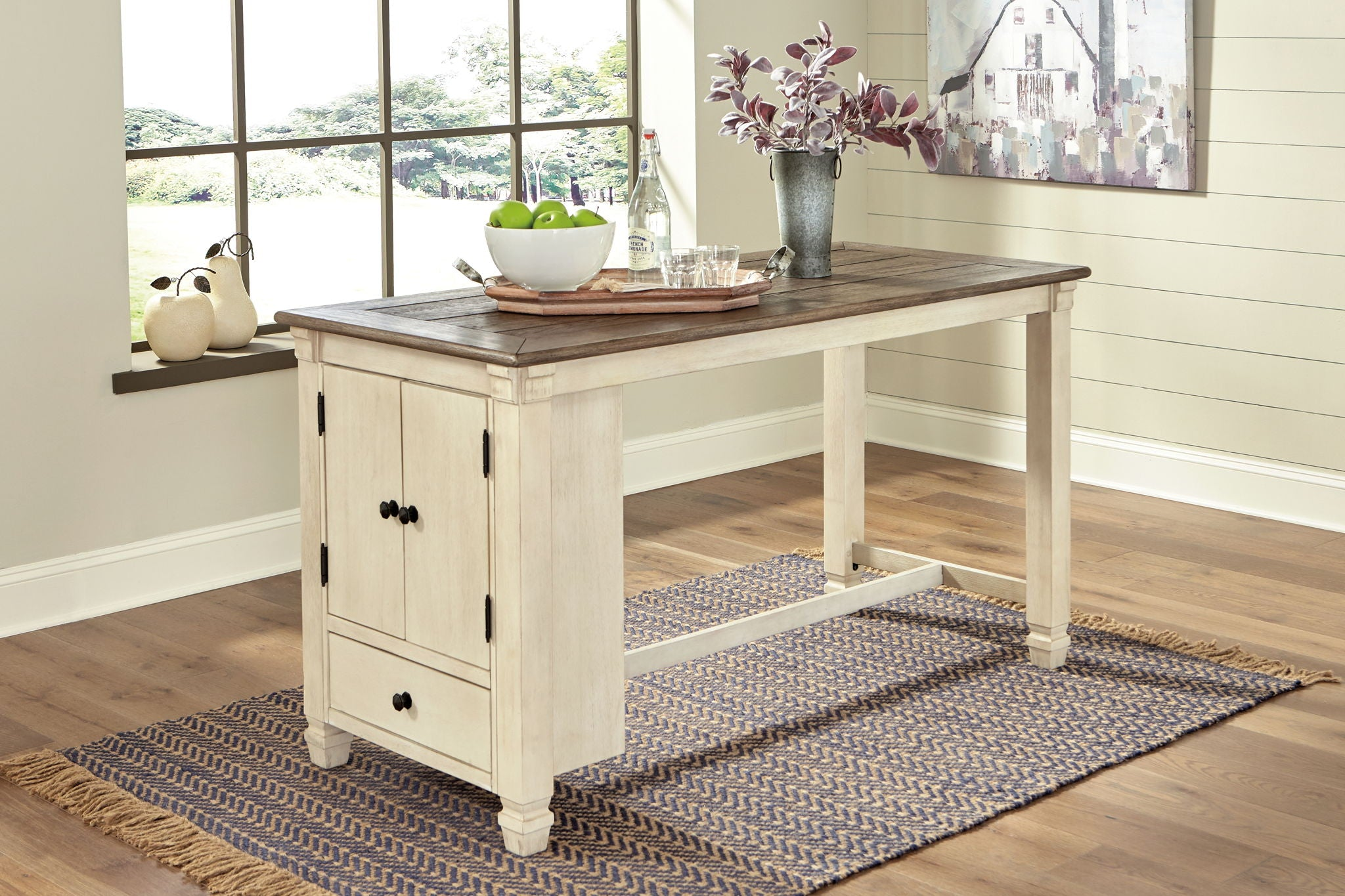 Bolanburg Counter Height Dining Room Table | Calgary's Furniture Store